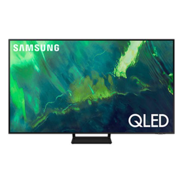 """Oferta de 75"""" Q70A QLED 4K Smart TV 2021 por $54999"""