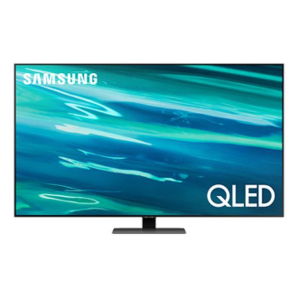 """Oferta de 55"""" Q80A QLED 4K Smart TV 2021 por $26999"""
