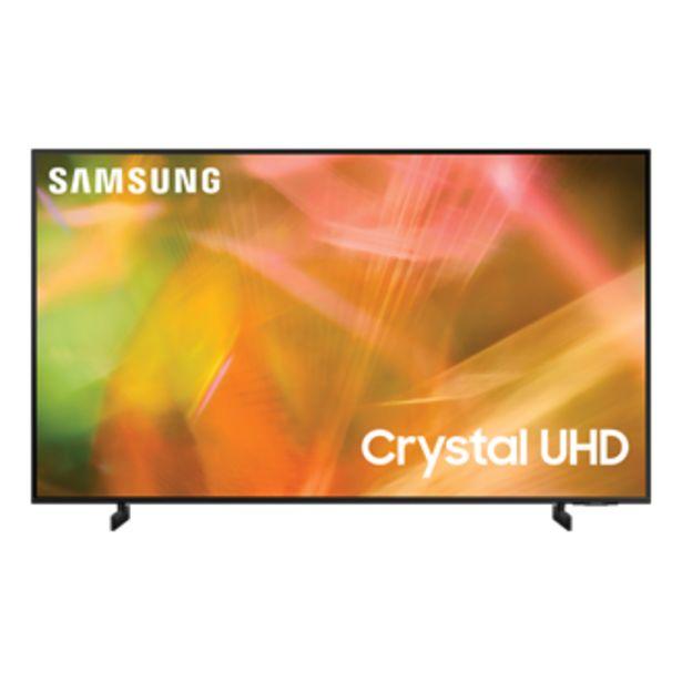 "Oferta de 85"" AU8000 Crystal UHD 4K Smart TV 2021 por $51999"