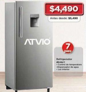 Oferta de Refrigeradores Atvio por $4490