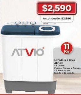Oferta de Lavadoras Atvio por $2590
