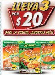Oferta de Sopa Serrano por