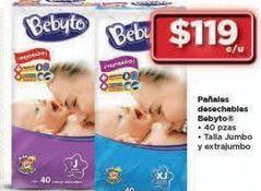 Oferta de Pañales Bebyto por $119
