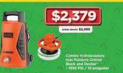 Oferta de Hidrolavadora Black & Decker por $2379