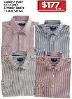 Oferta de Camisas simply basic por $177