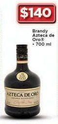 Oferta de Brandy Azteca de Oro 700 ml por $140