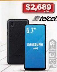 Oferta de Celulares Samsung AO1 por $2689