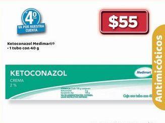 Oferta de KETOCONAZOL Medimart por $55