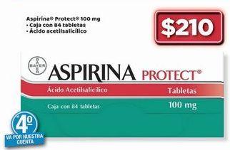 Oferta de Aspirina Protect 100 mg por $210