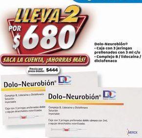 Oferta de Dolo-Neurobión x 2 por $680