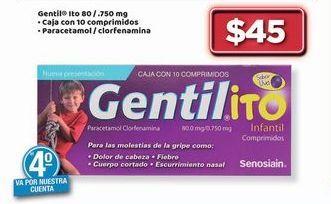 Oferta de Gentil Ito 80 / 750 mg por $45