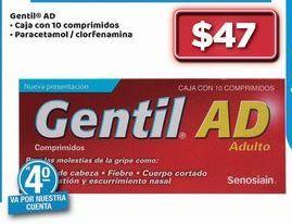 Oferta de Gentil AD por $47