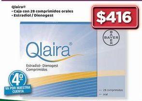 Oferta de Qlaira. Estradiol / Dienogest por $416