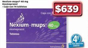 Oferta de Nexium-mups por $639