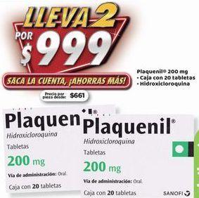 Oferta de Plaquenil x 2 por $999