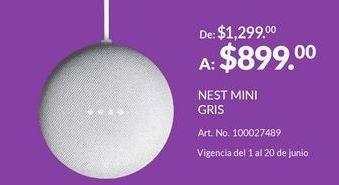 Oferta de Nest Mini Gris por $899