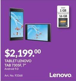 Oferta de Tablet Lenovo por $2199