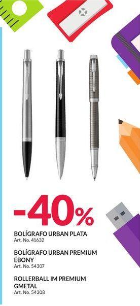 Oferta de -40% BOLIGRAFOS PARKER por