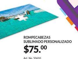 Oferta de Rompecabezas Sublimado Personalizado por $75