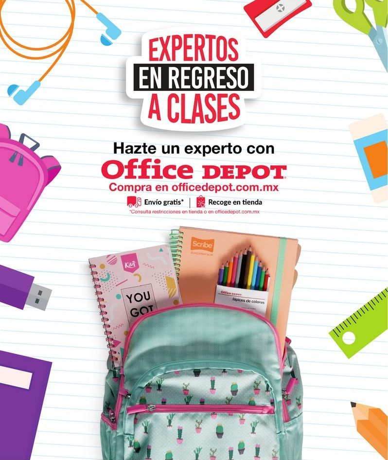 Oferta de EXPERTOS EN REGRESO A CLASES por