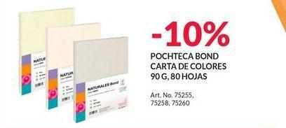 Oferta de POCHTECA BOND CARTA DE COLORES por
