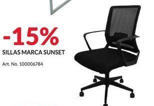 Oferta de SILLAS MARCA SUNSET por