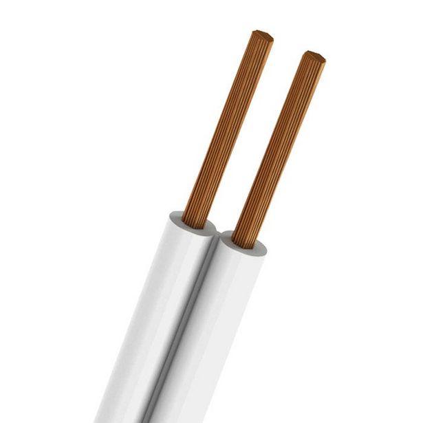 Oferta de Cordon Pot Spt #16 Awg 300v 60° Blanco 100mts Iusa por $1324.51