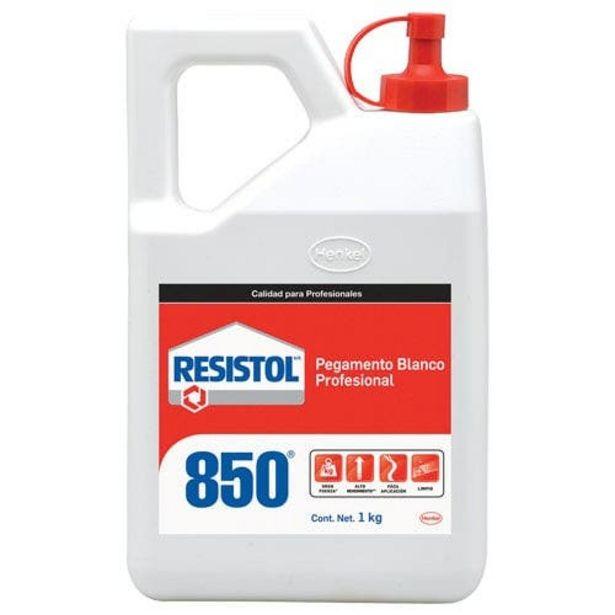 Oferta de Pegamento Blanco Botella 1 Kg Resistol 850 Henkel por $109.78