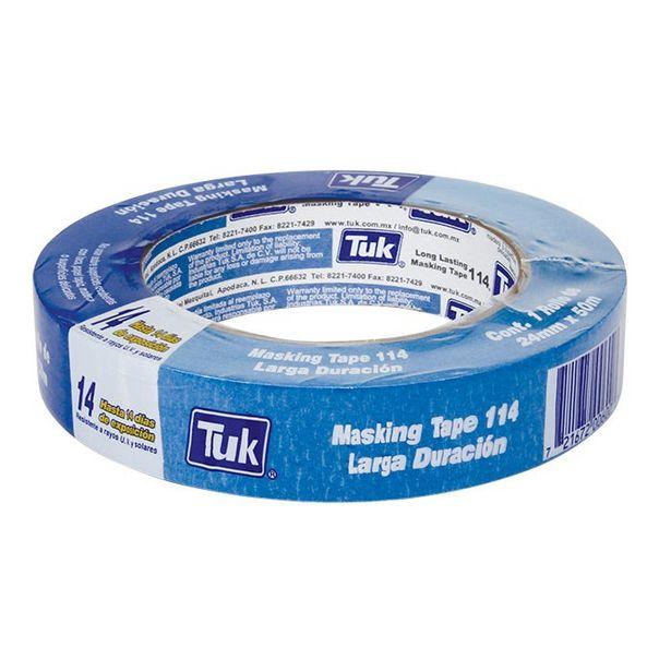 Oferta de Cinta Masking Tape 24mm X 50m Mod 114 Tuk por $62.9