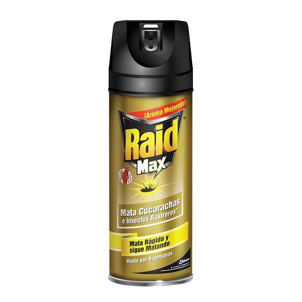 Oferta de Insecticida Aerosol 285ml Raid Max Sc Johnson por $52.08