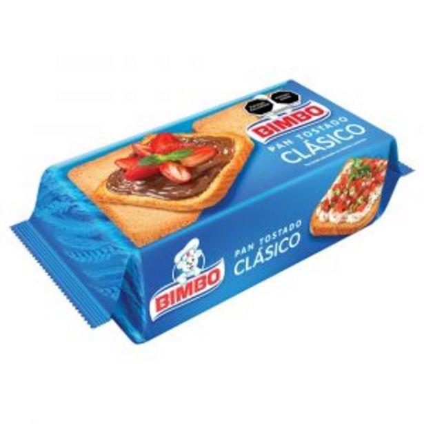 Oferta de PAN TOSTADO BIMBO 210 GR por $24.9