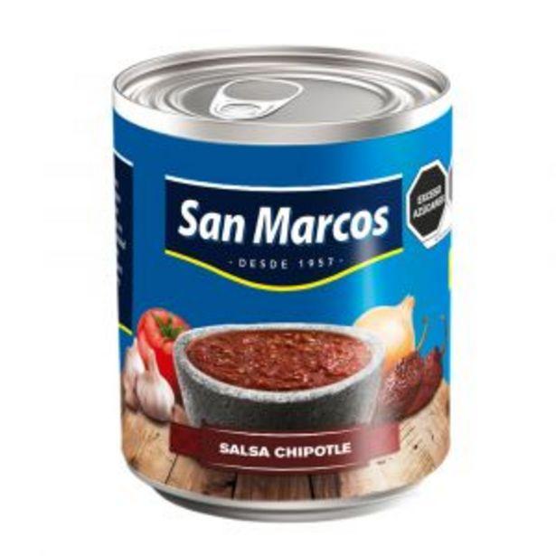 Oferta de SALSA SAN MARCOS CHIPOTLE 215 GR por $9.5