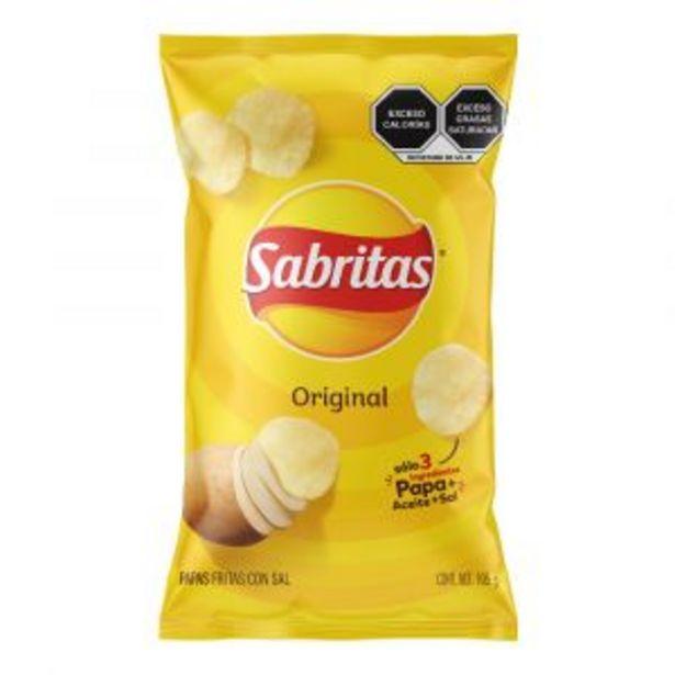 Oferta de SABRIMAYOREO COMPARTE SABRITAS SURTIDO 155,100,120,150GRS por $25.9