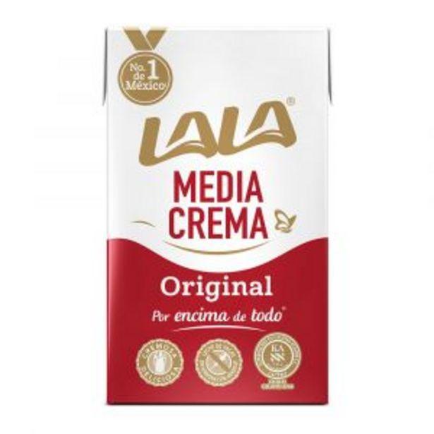 Oferta de MEDIA CREMA LALA 250ML por $13