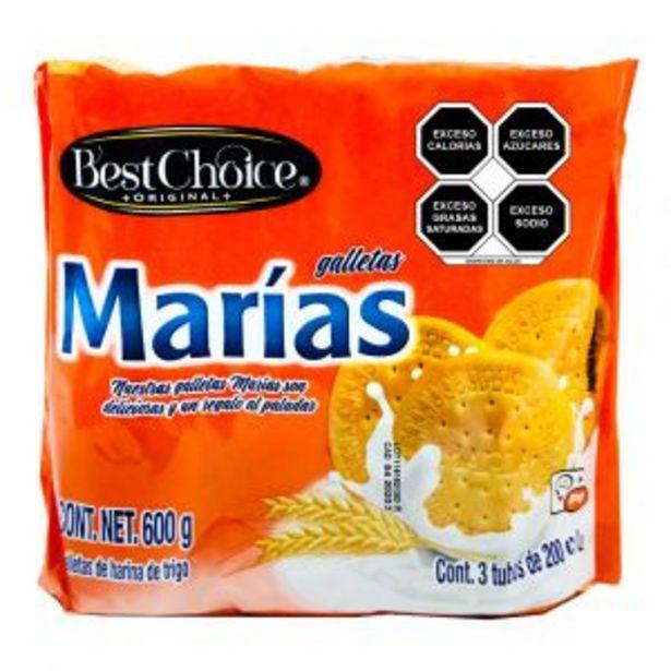 Oferta de GALLETA BEST CHOICE MARIA 600 GRS. por $20.9