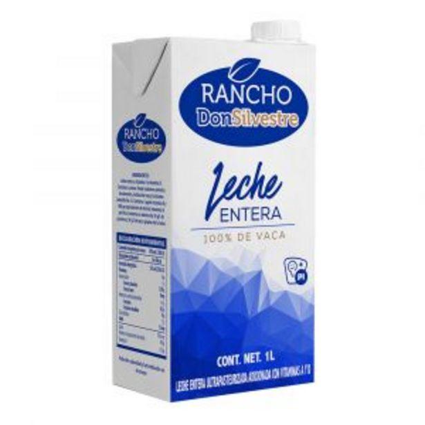 Oferta de LECHE ENTERA RANCHO DON SILVESTRE SLIM 1 L por $16.9