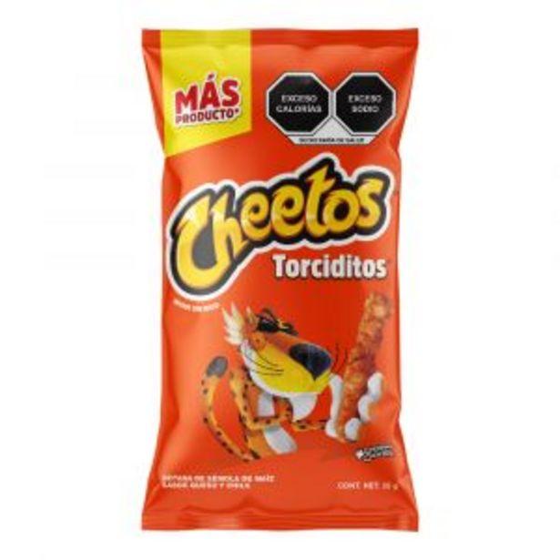 Oferta de CHEETOS PACK SABRITAS QUESO 42 GRS por $10