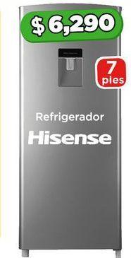 Oferta de Refrigeradores Hisense 7 pies por $6290