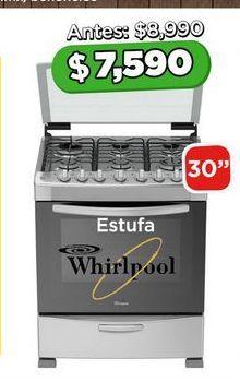 Oferta de Estufa Whirlpool por $7590