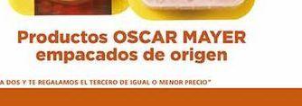 Oferta de Producto Oscar Mayer empacado de origen por