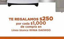 Oferta de Electrodomésticos Winia Daewoo por