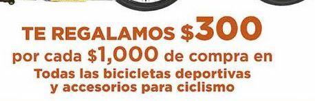 Oferta de Bicicletas deportivas y accesorios de ciclismo por