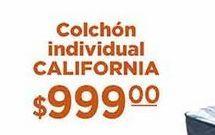 Oferta de Colchón individual California por $999
