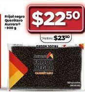 Oferta de Frijol negro Querétaro Aurrera por $22.5