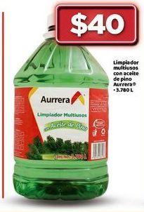 Oferta de Limpiador multiusos con aceite de pino Aurrera por $40