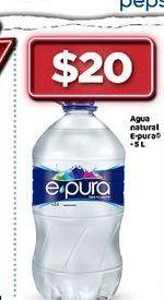 Oferta de Agua epura por $20