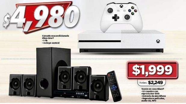 Oferta de Consolas Xbox por $4980