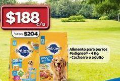 Oferta de Alimento para perros Pedigree por $188