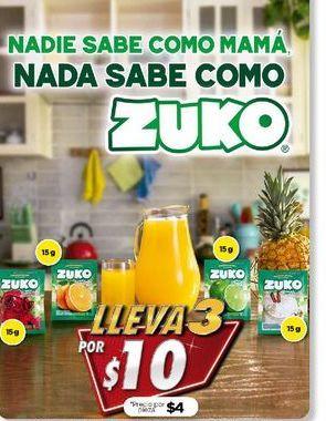Oferta de Polvo para agua Zuko por