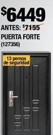 Oferta de PUERTA DE SEGURIDAD FORTE DERECHA 96 X 213 CM por $6449